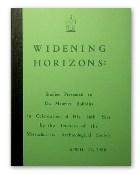 Widening Horizons - Studies