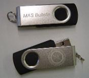 MAS Bulletin USB Drive