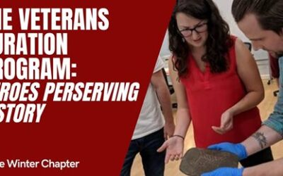 New Talk: The Veterans Curation Program—Heroes Preserving History