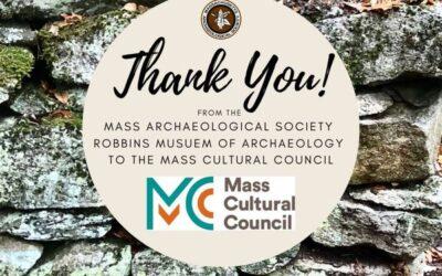 Thank You Mass Cultural Council