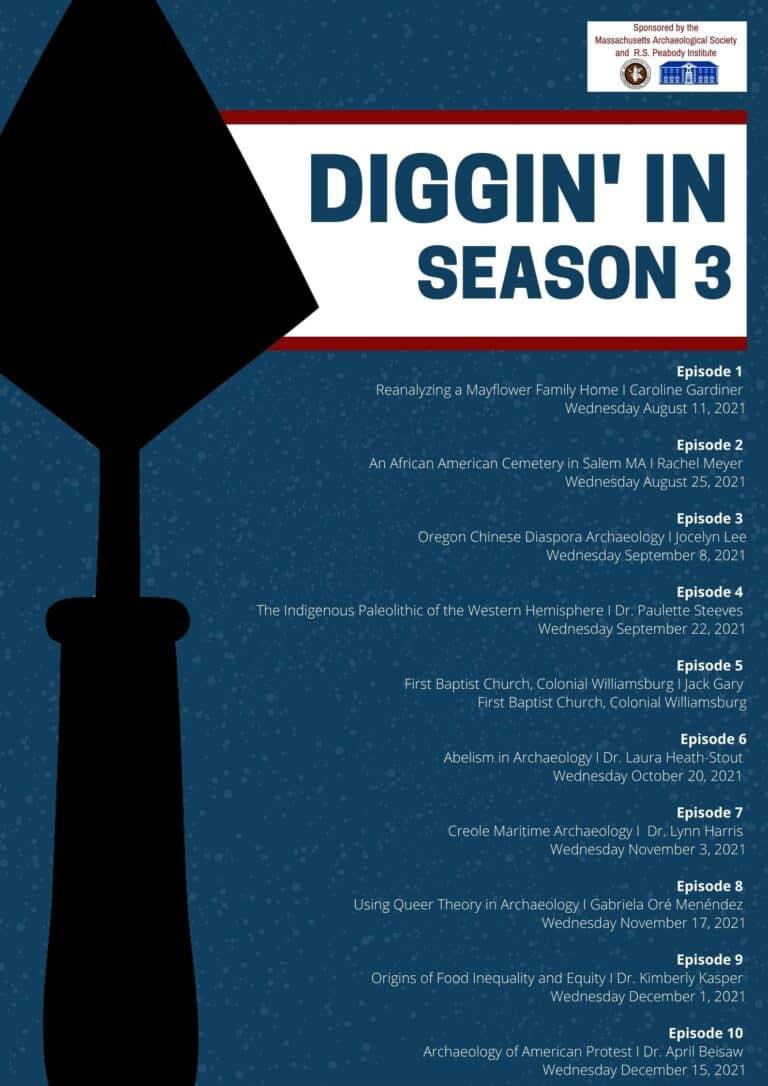 Diggin' In Season 3 Schedule