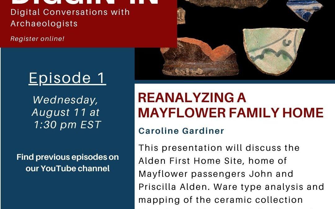 Free Online Talk: Reanalyzing a Mayflower Family Home